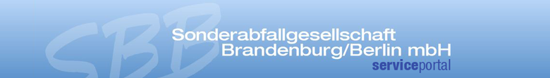 SBB Service Portal